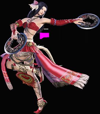 Danseur sur Final Fantasy XIV