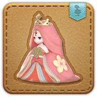 Image de présentation de la mascottes Mini-princesse Edvya