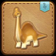 Image de présentation de la mascottes Bébé brachiosaure