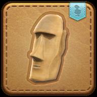 Image de présentation de la mascottes Mini moai