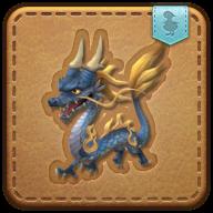 Image de présentation de la mascottes Dragonnet azur