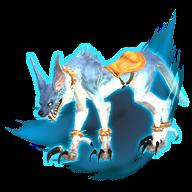 Image de présentation de la mascottes Loup sinistre