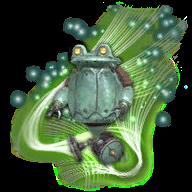 Image de présentation de la mascottes Grenouilleur M