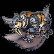 Image de présentation de la mascottes Tigre de Combat