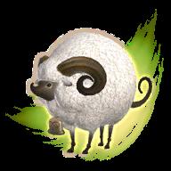 Image de présentation de la mascottes Karakul Albinos