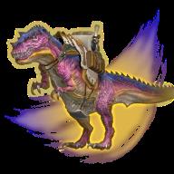 Image de présentation de la mascottes Tyrannosaure