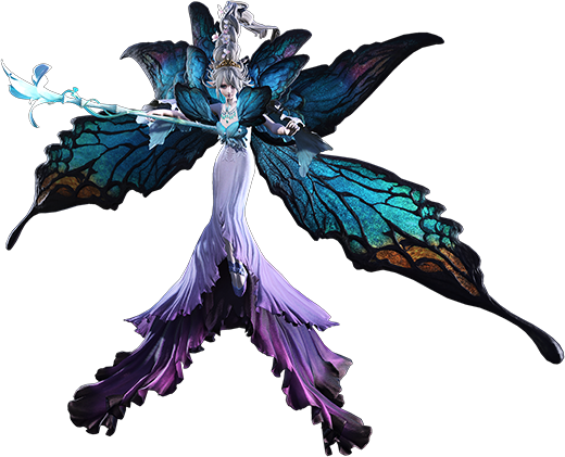 Titania sur Final Fantasy XIV